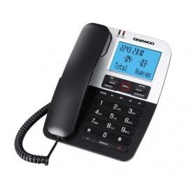 Teléfono Fijo Daewoo DTC-410 LED Música en Espera
