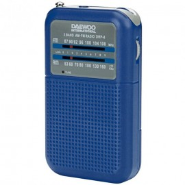 Daewoo DRP-8 AZUL - Radio CD/FM Doble banda FM/AM