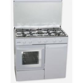 Cocina Rommer CH-916- B Blanco Butano Portabombonas