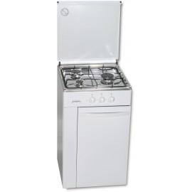 Cocina Rommer CFE-3 Blanco 3 Quemadores Portabombonas