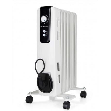 Radiador Aceite Orbegozo RH1500 1500W 3 Potencias Blanco