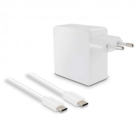 Metronic USB-C Blanco - Cargador + Cable 1.2M