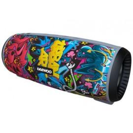 Daewoo DBT-10 Graffiti Altavoz Portátil 12W USB/MicroSD
