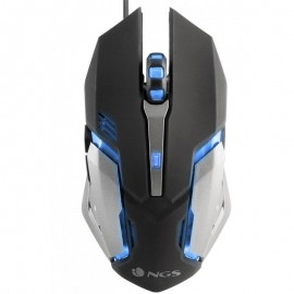 Raton Ngs Gmx-100 Gaming Led 7 Colors 2400dpi