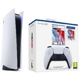 Sony PS5 - Consola + Mando DS + Juego NBA 2K22