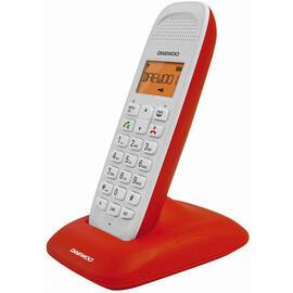 Telefono Inalambrico Daewoo Dtd-1350r Rojo, Modo Eco, Agenda 50 Números