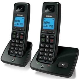 Telefono Pack Duo Daewoo Dtd-4100 Pantalla Lcd, Agenda 100 Numeros