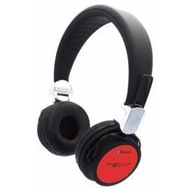Auriculares Bluetooth Nevir Nvr-941bh Rojo, 4-5h Duracion, Usb Mini, Slot Tj. Sd