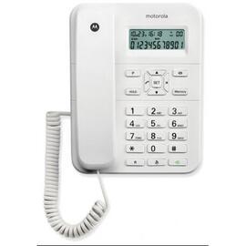 Telefono Cable Ct202 Blanco Display + Tonos Pulsos