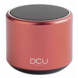 DCU 34156010 Rojo - Mini Altavoz 400MAH Bluetooth Portátil
