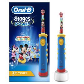 Oral B D12 Vitality Stages Mickey Cepillo Dental Braun + Vaso