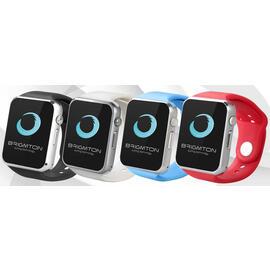 Reloj Smartwatch Brigmton BWATCH-BT4A Azul Android