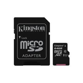 tarj-microsdhc-kingston-64gb-adap-clase-10