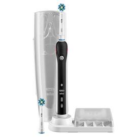 Cepillo Braun Dental Pro-4500 Cross Action Negro + Estuche