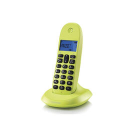 Telefono C1001lb+ Verde Manos Libres 50 Contactos 10 Melodias