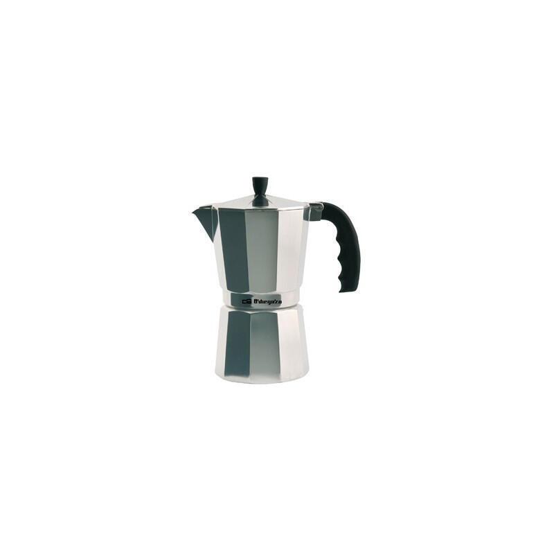 Cafeteras de Aluminio Cafetera Aluminio Orbegozo KF600 ASA 6 Tazas Vitro GAS
