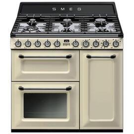 cocina-victoria-crema-90x60-cm-3-hornos-encimera-gas-clase-a-tr93p-smeg