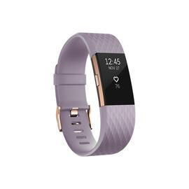 Pulsometro Fitbit Fb407rglvs Charge 2 Dorada Lila