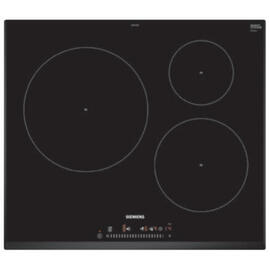 Vitrocerámica Siemens EH651FJB2E Inducción Biselada Negro