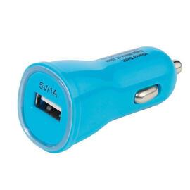 VIVANCO PBVV1AUSBCCBL Cargador de Coche Azul USB