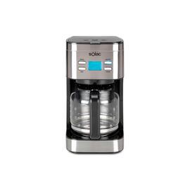 Cafetera Solac CF4028 1.5L Programable 12-15 Tazas INOX