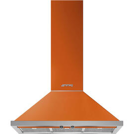 Campana Smeg KPF9OR Naranja A+ 815M3/H 3 Velocidades