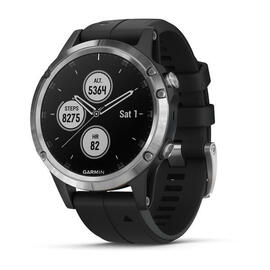 Reloj Deportivo Garmin Fenix 5 Plus Plata Gps Buletooth Wifi 10atm 16gb 47mm