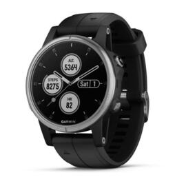 Reloj Deportivo Garmin Fenix 5s Plus Plata Gps Buletooth Wifi 10atm 16gb 47mm