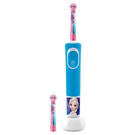 Cepillo Dental Vitality Kids Frozen Plus Box+2 Recambios