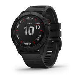 Reloj Deportivo Garmin Fenix 6x Pro Negro Con Correa Negra 010-02157-01