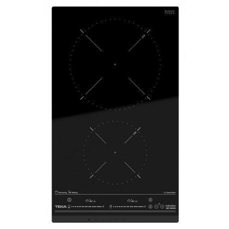 Teka IZC 32300 Placa Inducción Negro 30CM 2 Zonas 3500W
