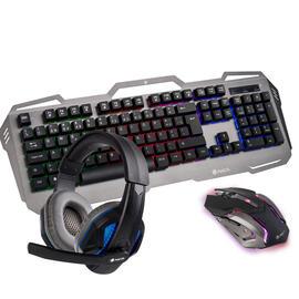 Teclado + Ratón + Auriculares NGS PACK GBX-1500 Gaming