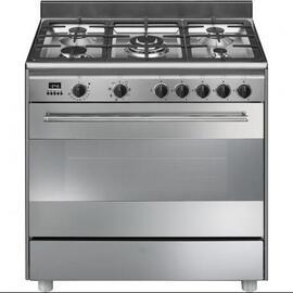 Cocina Smeg Bg91x9-1 90x60 5 Fuegos