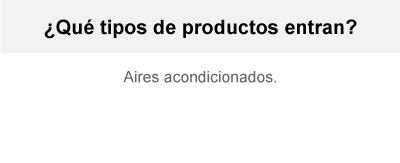 Garantía A/A - Aires Acondicionados