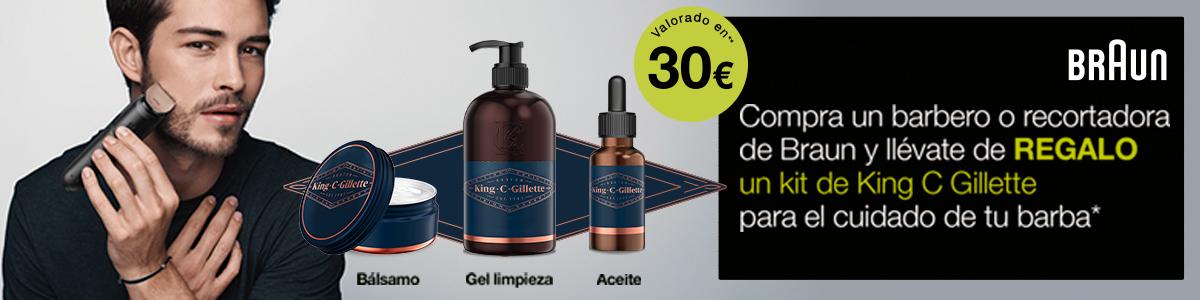 Promoción braun afeitadoras