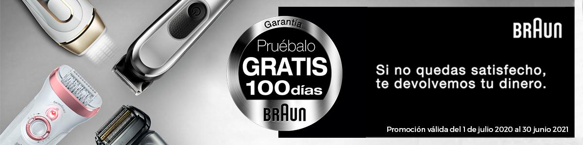 Promoción braun 100 dias