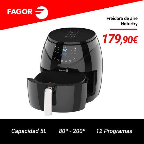 Fagor NATURFRY FG-145FR Freidora por Aire 1500W 5L