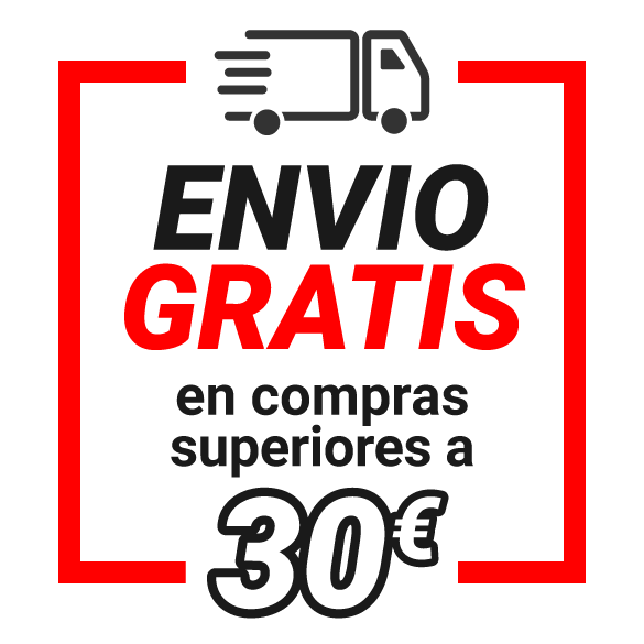 Envío gratuito en compras superiores a 30 euros